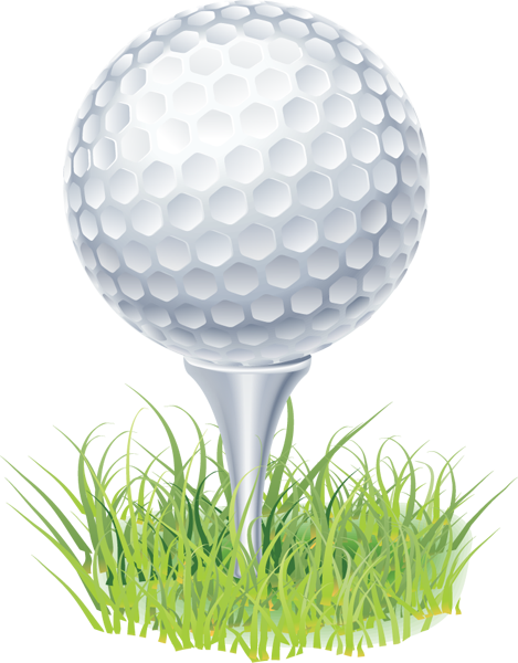 Columbia Golf Foundation - Columbia, MO Golf Ball On Tee Clipart