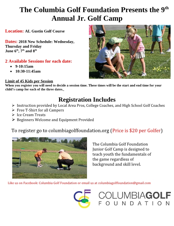 CGF 9th annual Jr. Camp