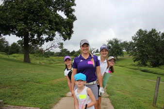 Columbia Missouri Golf Foundation Rising Stars Girls Golf Mentor Program